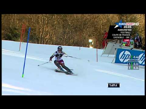 [FIS Alpine 2014-2015] Zagreb (Slalom) : Nina Løseth -  Run 2