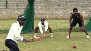 Fielding Drills  with coach - R Sridhar - Cricket