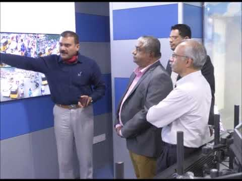 Deputy Minister of Health of Sri Lanka visited Command Control Room, Hyderabad visuals