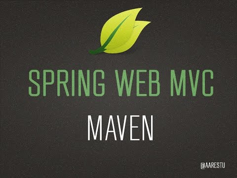 Create Java Spring Web MVC Project With Maven [EDITED]