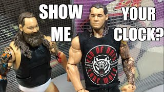 wwe action insider baron corbin mattel superstars series 63 wrestling figure review