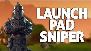 Nasty Launch Pad Snipe Victory!! - Fortnite Gameplay - Ninja