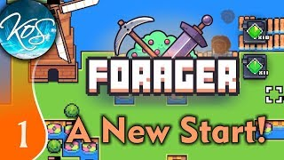 Forager Demo Ep 1: New Start, Better Strats - Game 2 - Let's Play, Gameplay