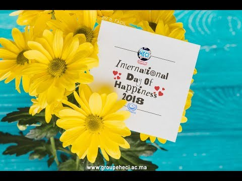 Happiness Day 2018 - #HECI School of Happiness - Agadir