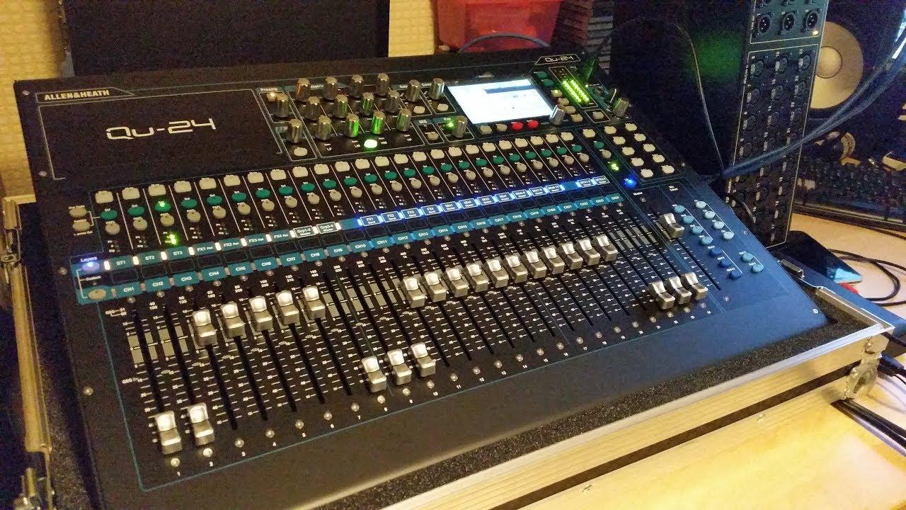Heath Allenamp; Overview Ar2412 Digital Mixing Console Qu Rack Audio Unboxing 24 kiZPuOX