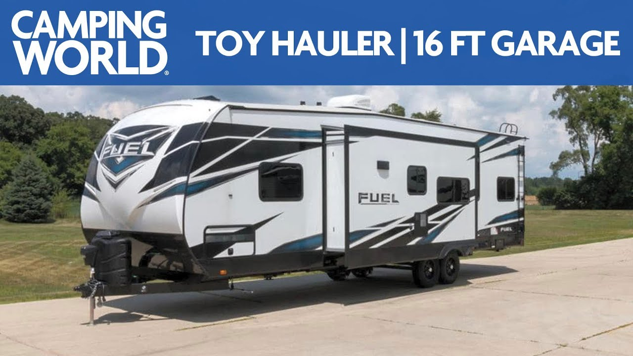 2019 Heartland Fuel 305 | Toy Hauler - RV Review: Camping World
