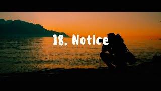 18.  Notice   VISUAL POETRY ft.  Daigo Hanada
