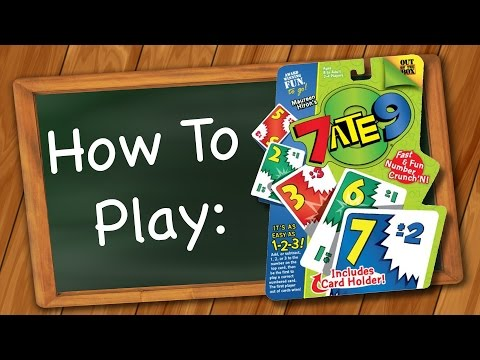 How to Play: 7 Ate 9