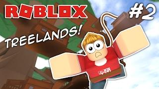 BUNGEE JUMPING!! Roblox Treelands