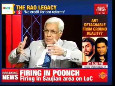 India Today - To The Point featuring Sanjaya Baru on '1991: How PV Narasimha Rao Made History '