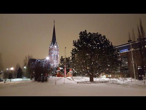 Luleå (Suède) en hiver