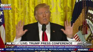 Repeat youtube video MUST WATCH: President Trump Takes ON CNN Reporter Jim Acosta During Press Conference (FNN)