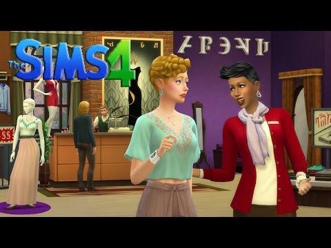 The Sims 4 - Ruha üzlet - Get to Work
