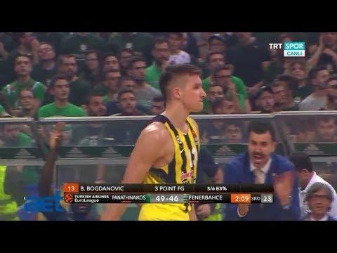 Turkish Airlines Euroleague Playoff 1. Maçı *Panathinaikos-Fenerbahçe Maçının Tamamı*