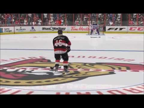 NHL 15 Shootout Commentary Ep. 1 Ottawa Senators