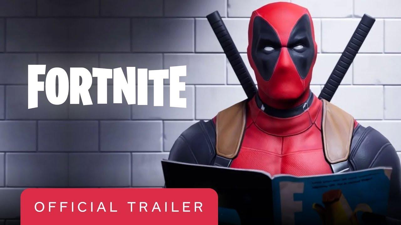 Fortnite Official Deadpool Trailer Youtube