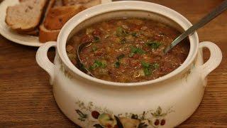 Юлия Высоцкая - Суп из фасоли с кабачками