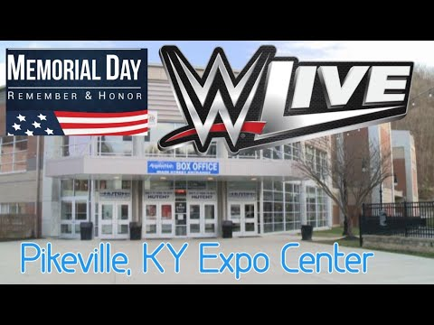 WWELive Show Vlog: Raw - Expo Center Memorial Day Weekend 2017