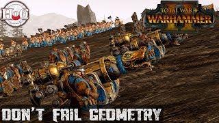 Don't Fail Geometry - Total War Warhammer 2 - Online Battle 180