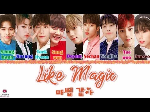 1The9 (원더나인) -  Like Magic (마법 같아) [Han/Rom/Eng] Lyrics (가사)