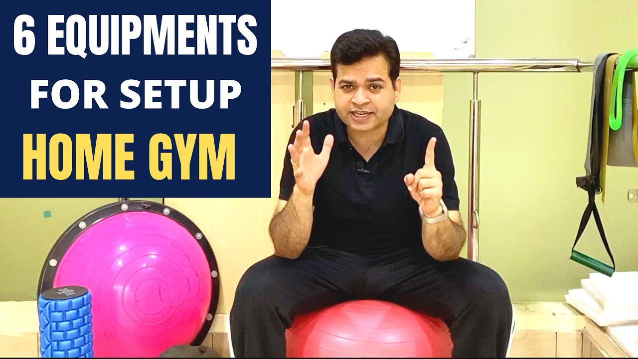 How to setup Home GYM, GYM at Home Without Dumbbells, 6 Best GYM Equipment for Home- Workout AT HOME
