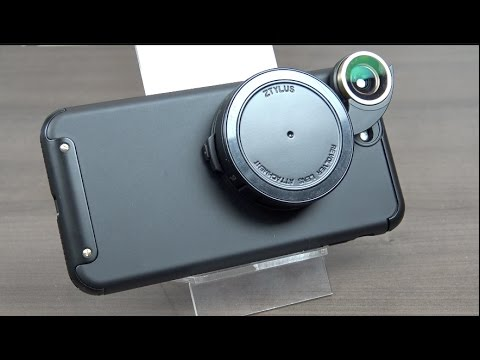 Estuche modular con 4 lentes para iPhone 7 Plus - Ztylus Revolver