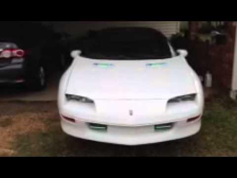 1995 Camaro Led Lights Youtube