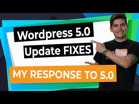 WordPress Gutenberg 5.0 FIXES For Divi, Elementor, and Brizy! + My Response To WordPress 5.0 Update