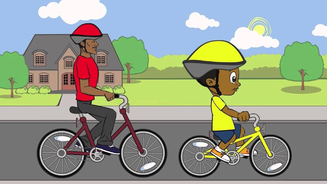 Imagen De Niña Andando En Bicicleta: Un Viaje Más Seguro En Bicicleta