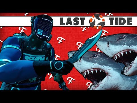 Last Tide: Surviving Inside Shark Zone Challenge! (Battle Royale Online - Comedy Gaming)