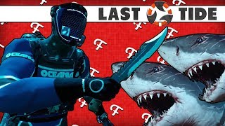 Last Tide: Surviving Inside Shark Zone Challenge! (Battle Royale Online - Comedy Gaming)
