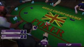 World Championship Poker 2 Howard Lederer: Gameplay for PSP