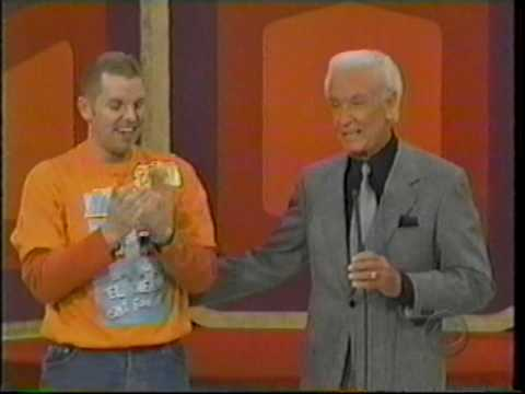 Brent Wolgamott Me On Quot The Price Is Right Quot Barker
