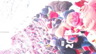 chiefs fans fight and guy gets knocked out