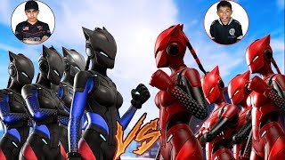 Team Diamond VS Team Mini Pro Fortnite Tournament 2! Intense Clan Battle Against Little Brother!