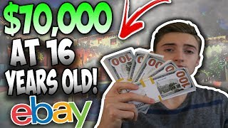How I Made $70,000 Selling On Ebay By The Age 16
