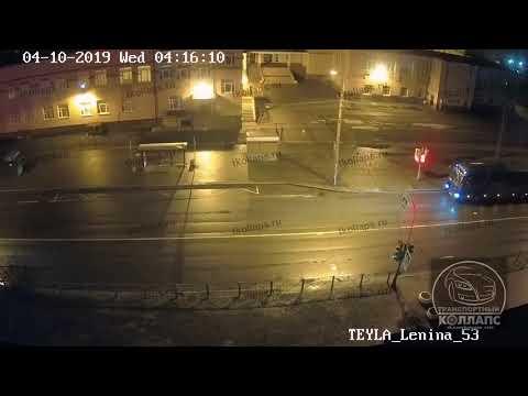 Авария в Красном Селе 10.04.19