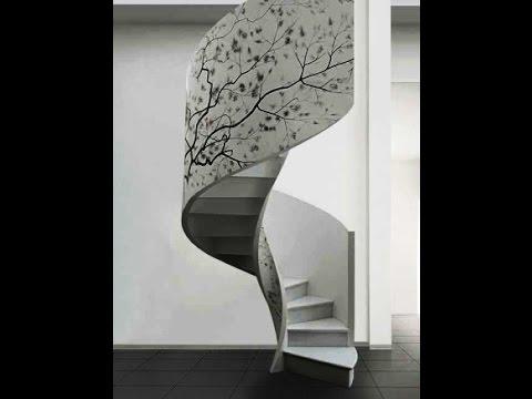 Виды лестниц внутри дома. Красивые винтовые лестницы
