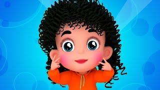 пухнелькие щеки ямочка подбородок   детские стишки   песни для детей   Chubby Cheeks