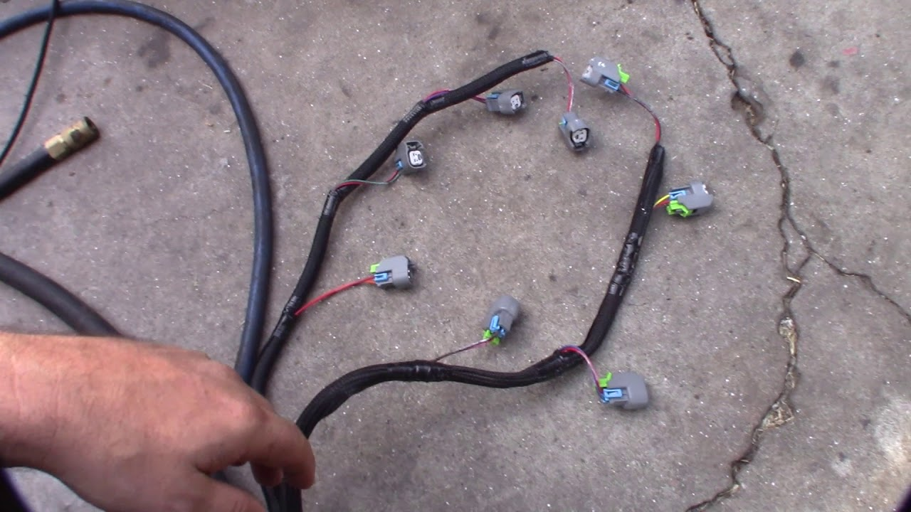 hight resolution of holley 558 212 efi uscar ev14 upgrade wiring harness upgrade ford 5 0 302 351w