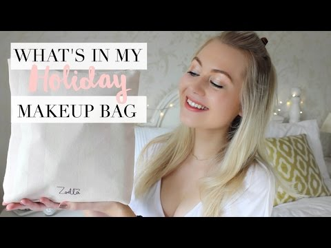 What's In My Holiday/Travel Makeup Bag | Meg Says