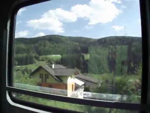 Prague to Graz by train 10 May 2011