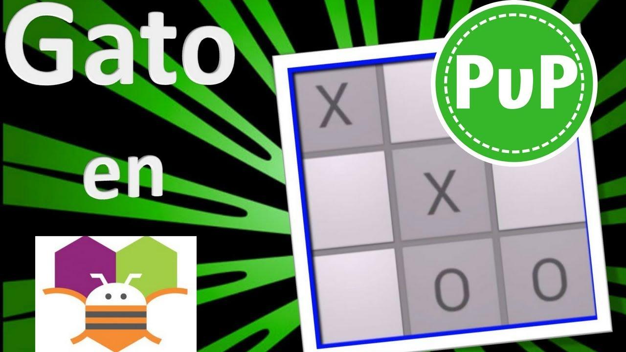 Gato PvP Tic Tac Toe creada en App Inventor Apk  #Smartphone #Android