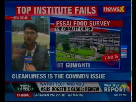 Top 12 institutes fail FSSAI's food test; survey conducted in 12 central government institutes