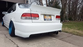 The Best Looking Rear Lip and Spoiler For A Civic