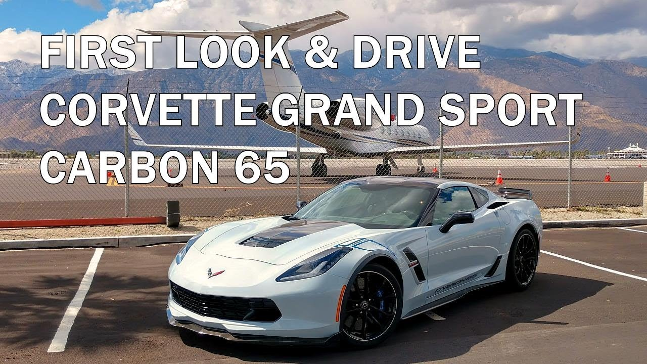 2018 CORVETTE CARBON 65 GRAND SPORT - First Drive and Walk-Around