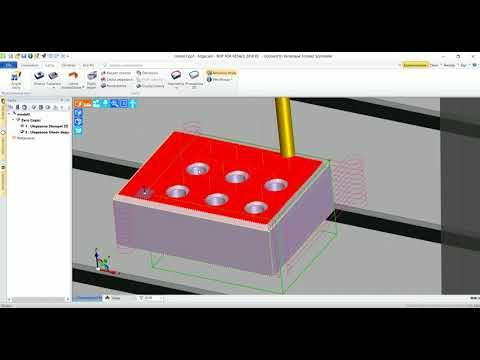 Edgecam | Aktualizacja modelu bryłowego
