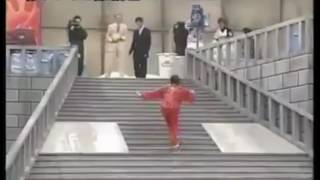 Lotion Stairs Game: Japanese Funny TV
