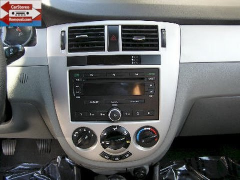 Suzuki Forenza Car Stereo Removal and Replacement  YouTube