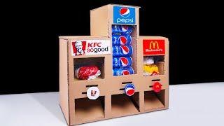 How to Make KFC McDonald's and Pepsi Vending Machine